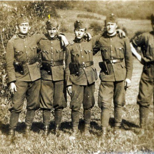 Bécsi Ferenc határvadász szakaszvezető második világháborús füzetei I. rész