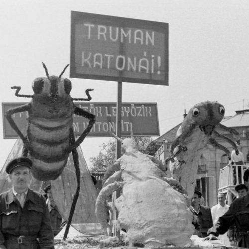 """A kolorádóbogarak elleni harc az 1950-es években, vagyis """"az amerikai imperializmus egy újabb csapása"""""""