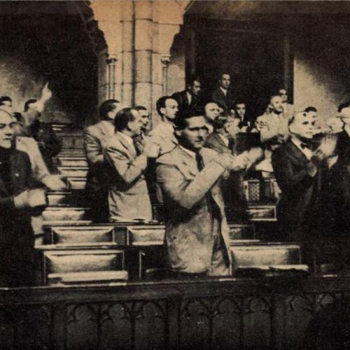 A Milotay Istvánnal fémjelezhető kormányzati szélsőjobb irányvonala 1941-ben