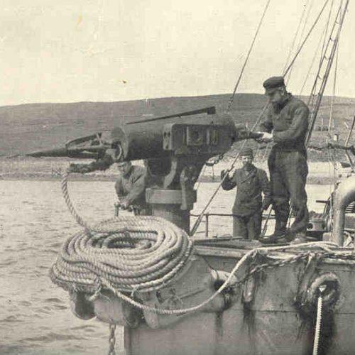 Világjáró magyarok nyomában: bálnavadászat a Jeges-tengeren, rozmárhajsza a Spitzbergákon