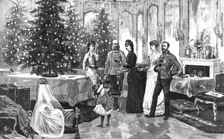 A trónörököspár év végi ünnepi szokásairól (1881-1882)