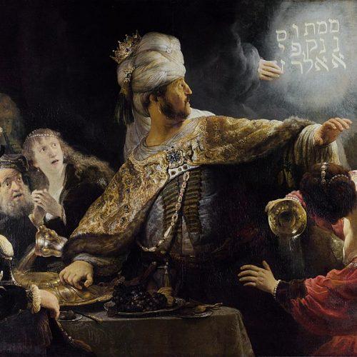 Biblia és történelem; Dániel könyve 5. fejezet a történelem tükrében