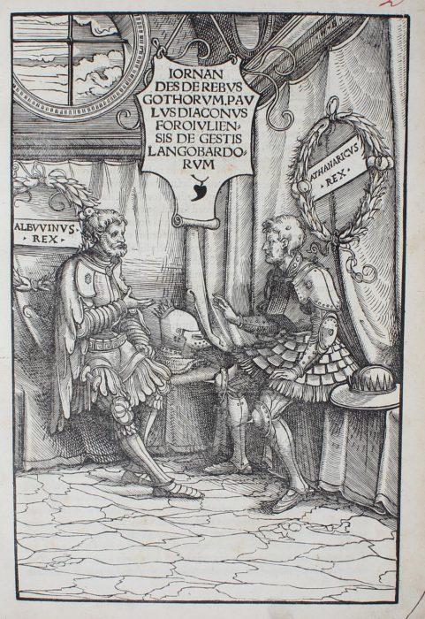Jordanes első nyomtatott kiadása 1515-ben
